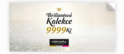 Klenoty Aurum CZ| katalog - Briliant Collection 9999 Kč