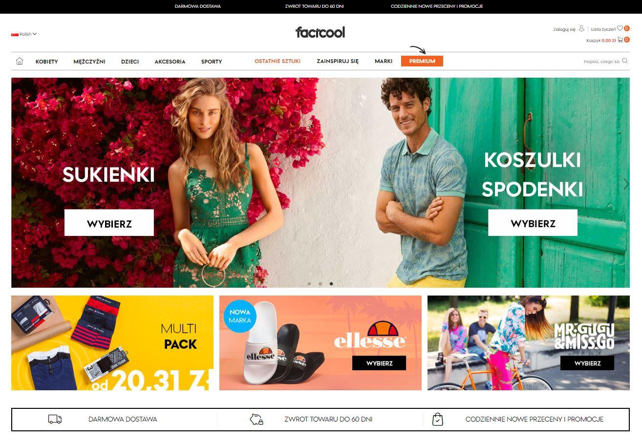 sklep internetowy factcool.com