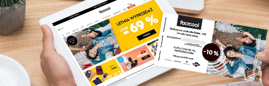 Acquisition Campaign factcool.com in PAKIET PLUS network